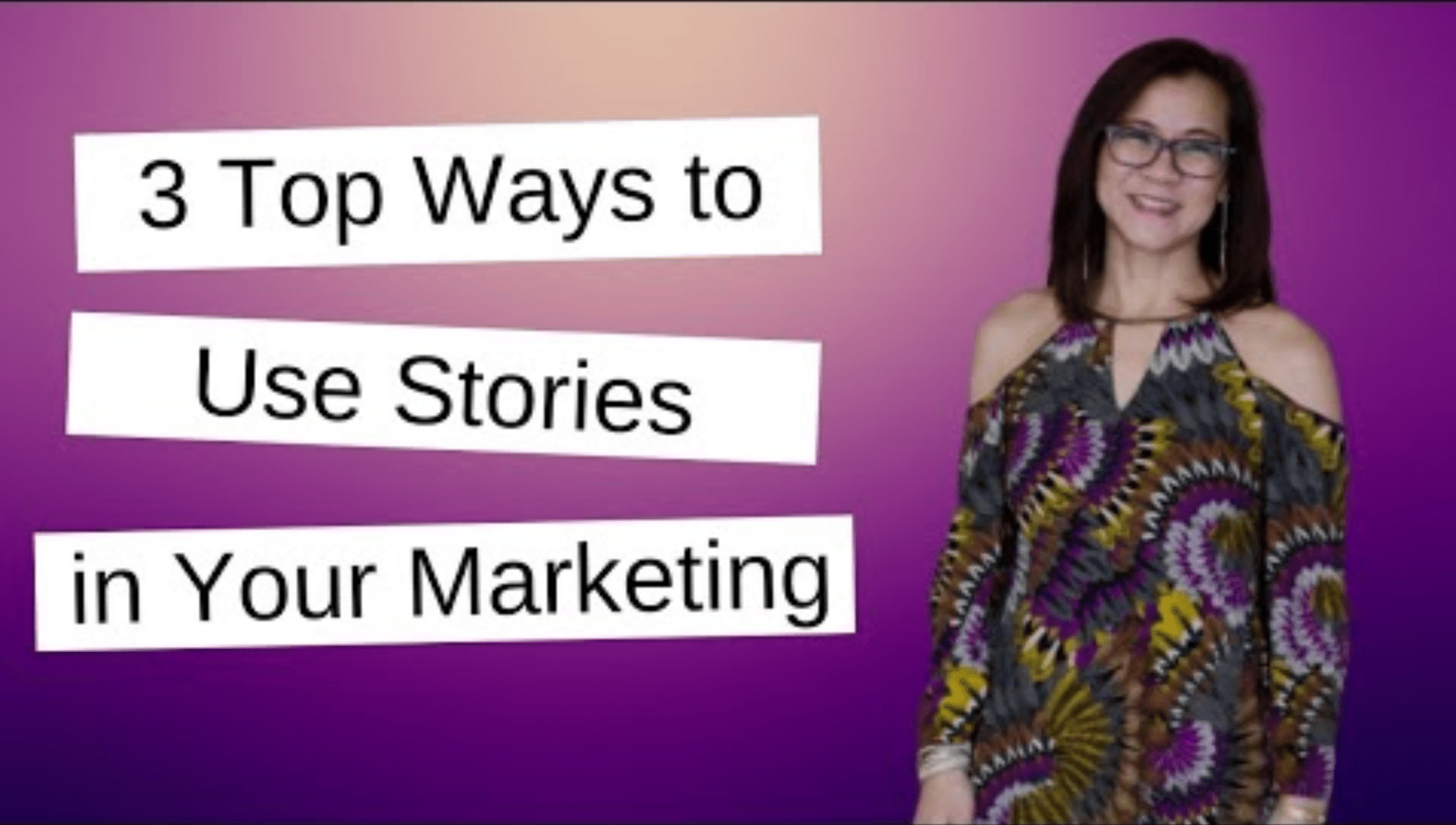 stories for marketing