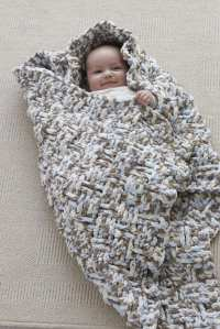New Baby Blanket in Craft Ideas Magazine - Vickie Howell