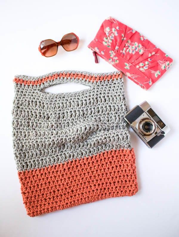 Vickie Howell Crochet Bag