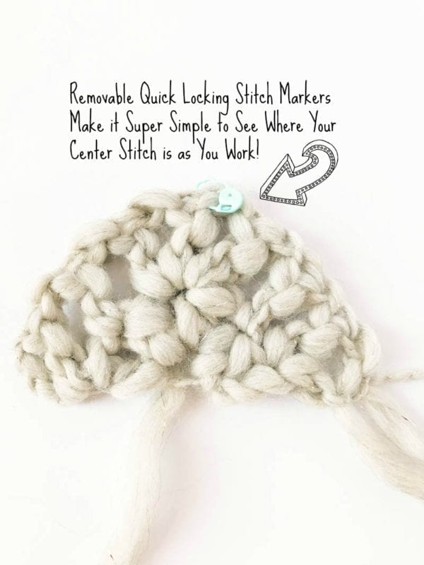 Quick Locking Stitch Marker Center