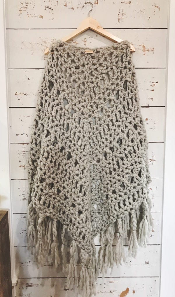 Quick Lock Markers Crochet Shawl