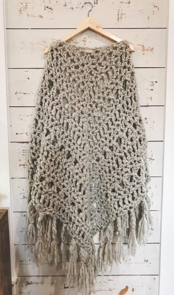 Chunky Crochet Shawl Pattern + Quick Locking Stitch ...