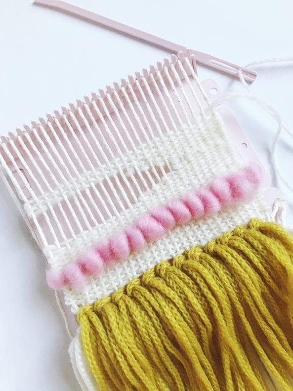 Clover Mini Weaving Loom | Creating Design