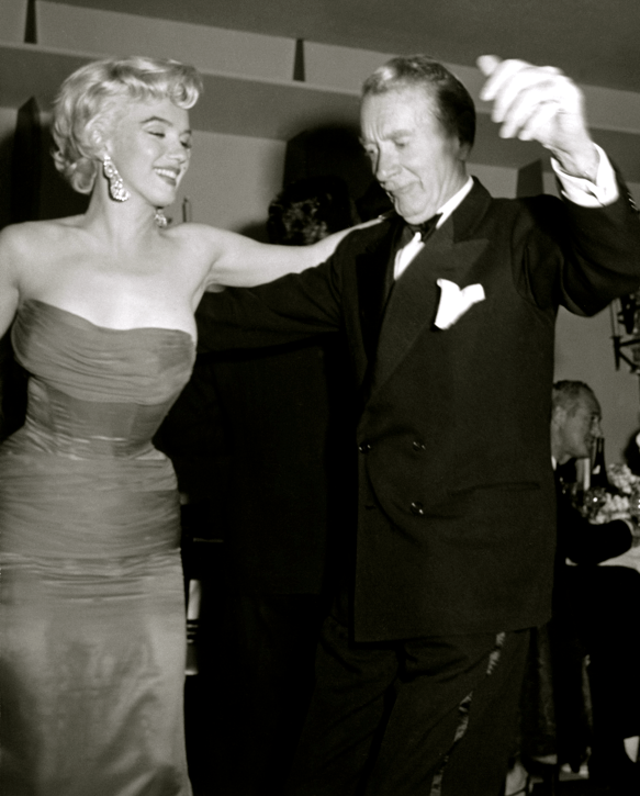 Marilyn Monroe and Clifton Webb cha-cha-cha