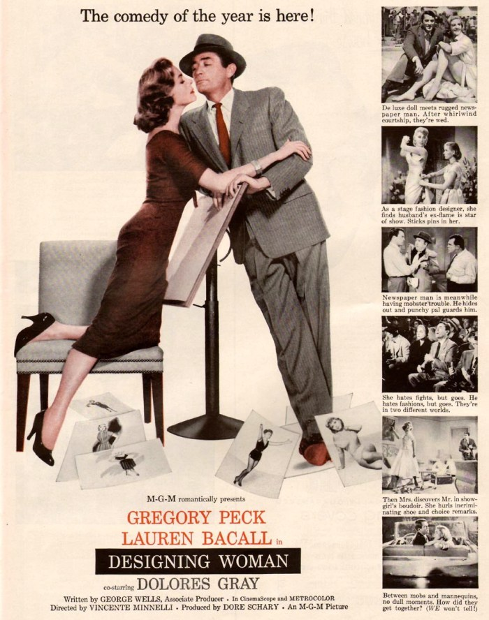 print ad 1957 designing woman