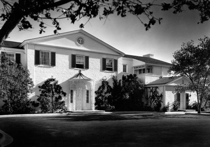 photo george haight selznick house
