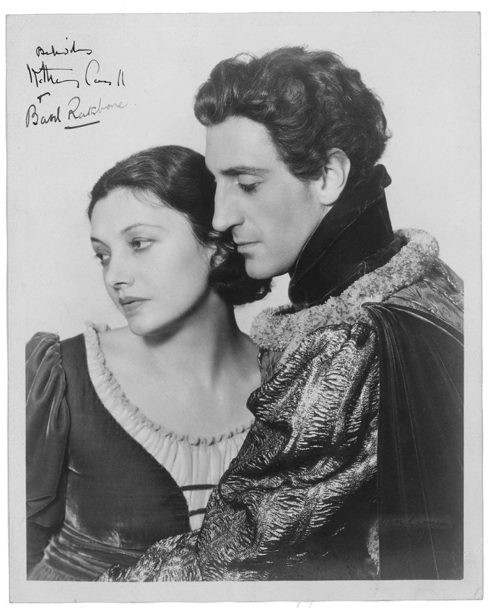 romeo and juliet basil rathbone and katharine cornell