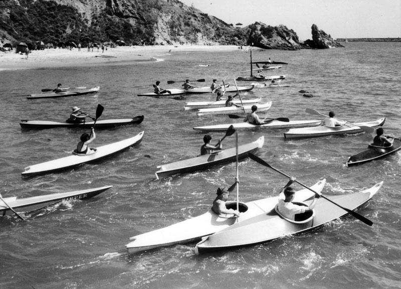 1931 kayaking newport beach