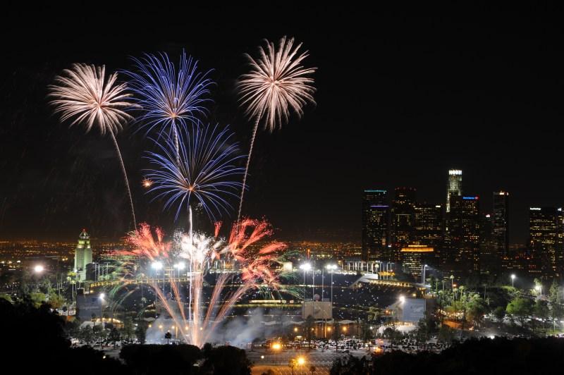 Dodger-Stadium-Fireworks
