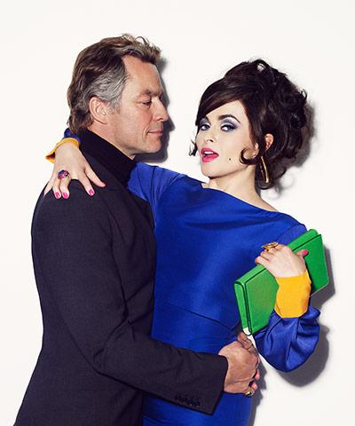 Dominic West and Helena Bonham-Carter