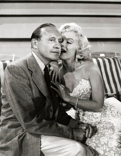 Marilyn on the Jack Benny Show