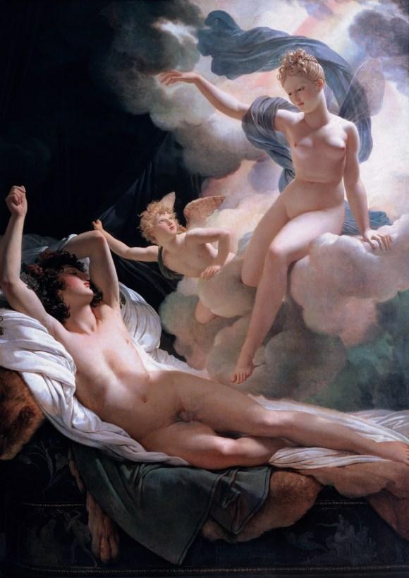 Morpheus and Iris  (1811) Artist: Pierre-Narcisse Guerin