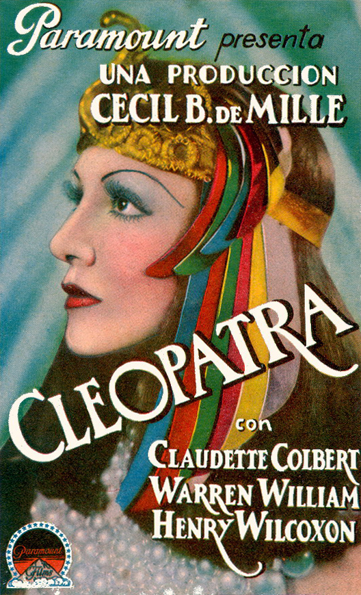 Poster - Cleopatra (1934)_02