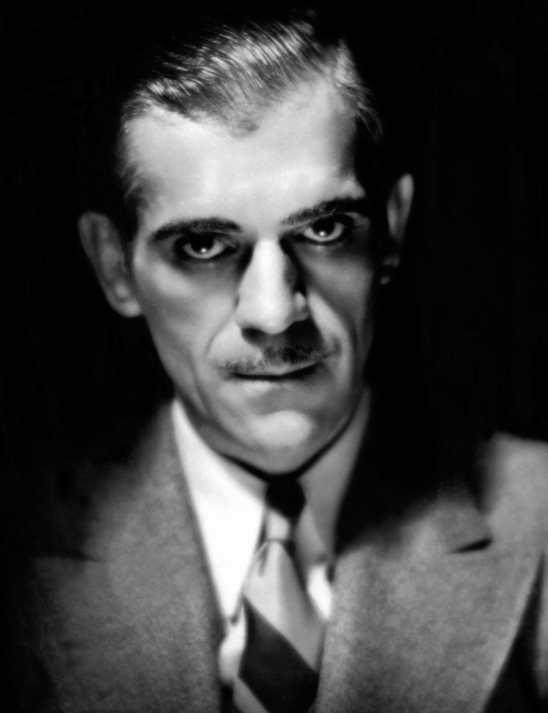 Karsh portrait of Boris Karloff