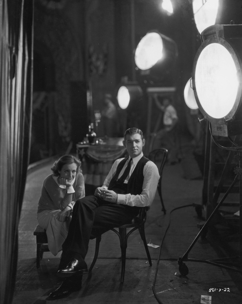 1931, On the set of 'Possessed' — Photo by Hulton Archive/Getty Images