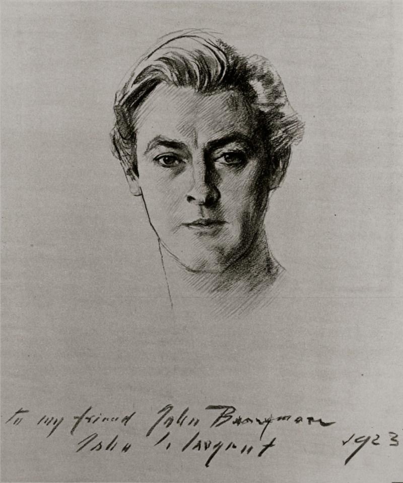 John Barrymore by John Singer Sargent