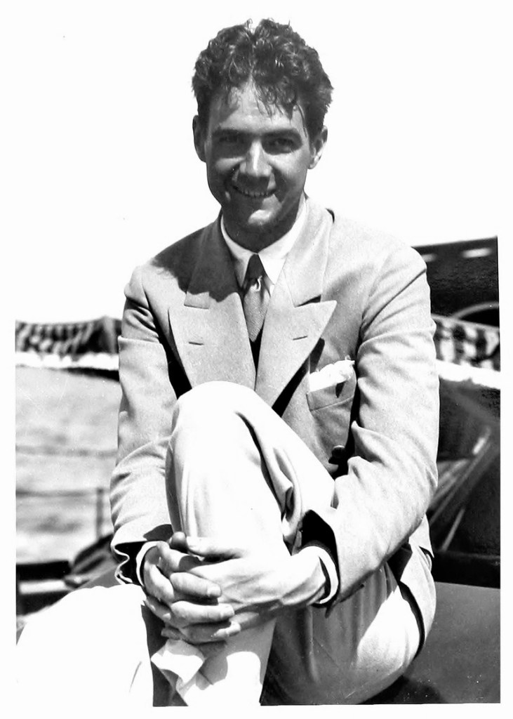 Howard Hughes by Billie Dove, 1929