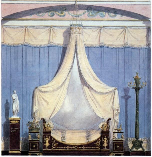 1802+-+France+-+Paris+bedroom