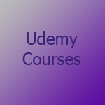 Graphic to promote Vickie Maris courses in Udemy