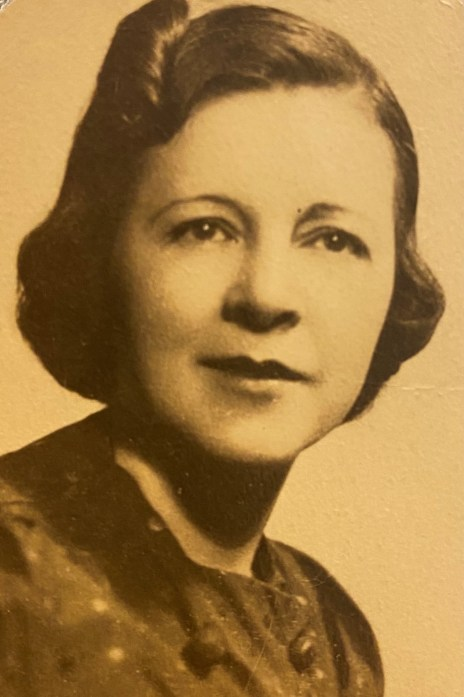 My Grandma Was an Air-Raid Warden- Photo from the 1940s of Sayde Schlanger