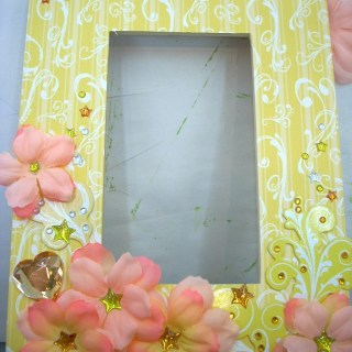 Embellish a Darice Unfinished Photo Frame