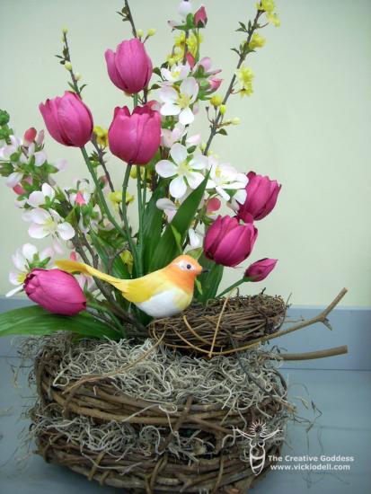 Spring Nest Arrangement