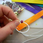 Make a Trivet with Craft Sticks and Wooden Beads