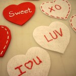 No Sew Felt Valentine's Day Ornaments