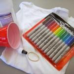 Projects for Kids – Sharpie Tie Dye