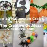 Top 10 Halloween Crafts from The Creative Goddess