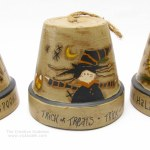 Halloween Crafts: A Trio of Clay Pot Bells
