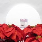 Composite Poinsettia Christmas Decoration