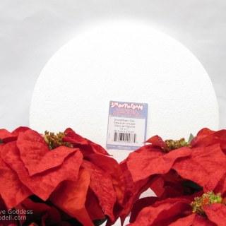 Composite Poinsettia Christmas Decoration