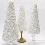 Candlestick Tabletop Christmas Trees