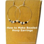 Jewelry Making: How to Make Beaded Hoop Earrings