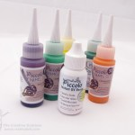 Paper Crafting Embellishments with Piccalo Enamel Gels and UV Resin
