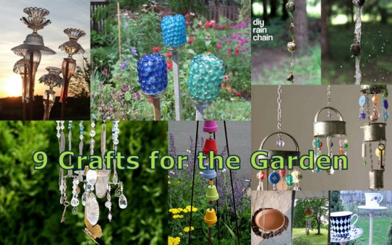 Crafts for the Garden - Garden Crafts