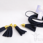 Easy DIY Suede Tassel Necklace