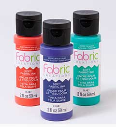 Fabric Creations™ Soft Fabric Inks