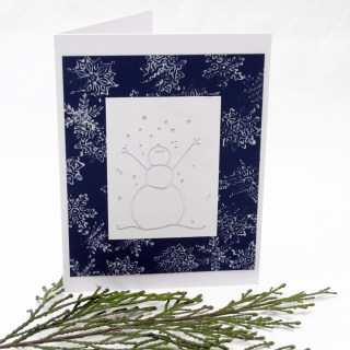 Snowman Handmade Card Three Ways