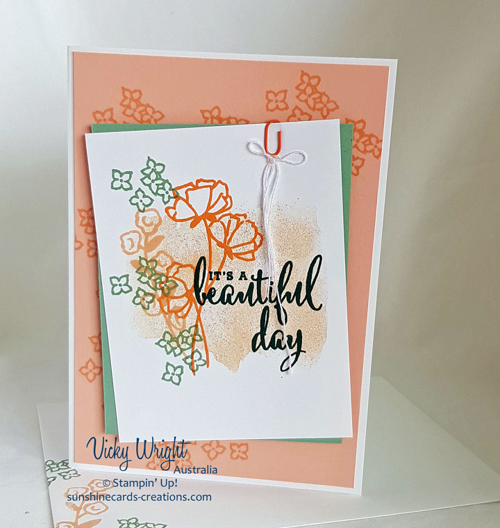 Share What You Love Suite, A Little More, Please Bundle, Stampin' Up! #stampinup #alittlemorepleasebundle #sharewhatyoulovesuite #vickywright #makeacardsendacard