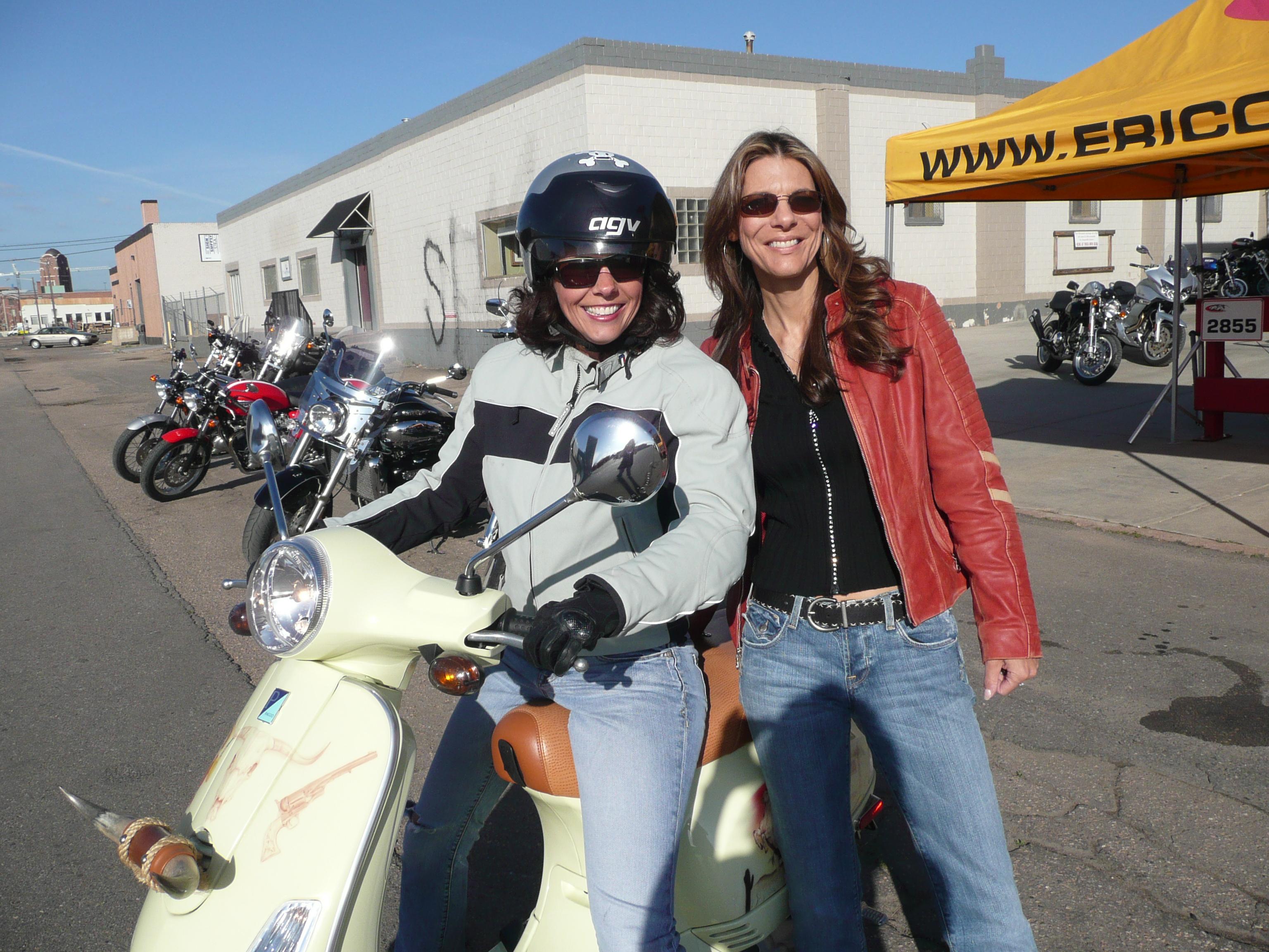Tia Beldock and Genevieve Schmitt