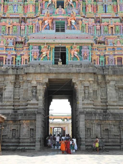 The great gate, Nataraja temple