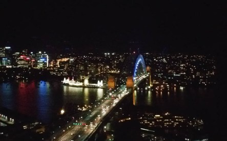 From tej rooftop bar of the Shangri La
