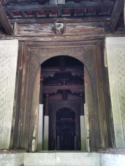 Doorway in the old Friday Mosque