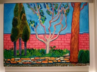 Colourful David Hockney
