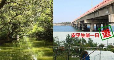 台南一日遊︱台南景點︱安平、安南生態一日遊行程:玩不一樣,吃祕密美食,不用人擠人,享受綠光與寧靜的氛圍吧