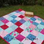 Diy Picnic Blanket Tutorial Vickymyerscreations