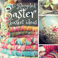 Great Eco Recycled Easter Baskets