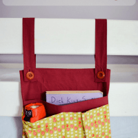 DIY Bunk Bed Storage Bag/Organizer